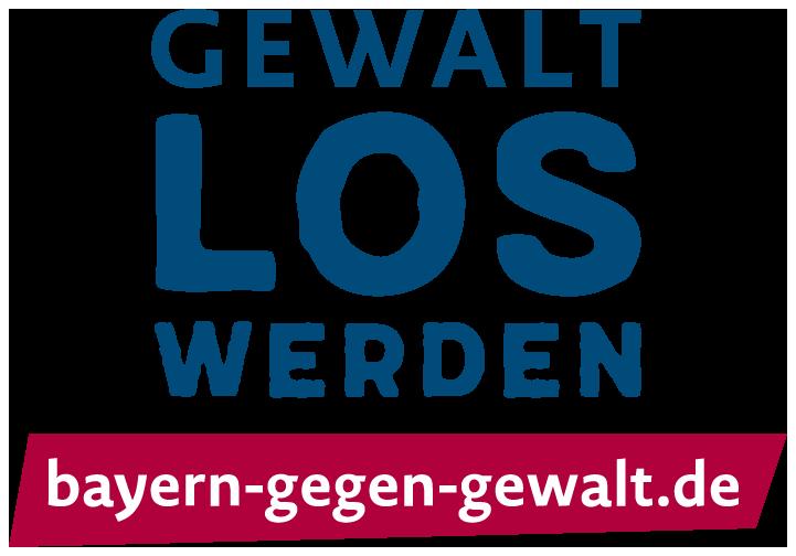 Logo Gewalt LOS werden - bayern-gegen-gewalt.de